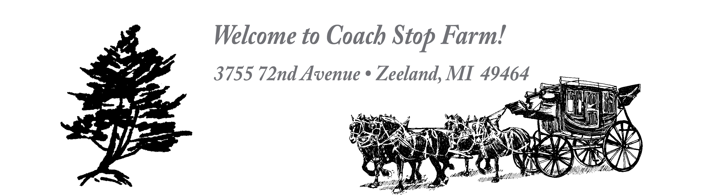 Coach Stop Farm Percherons Page
